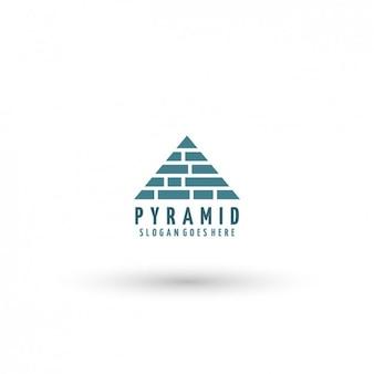 Piramida szablon logo