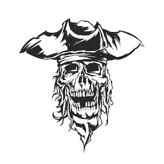 Pirat ilustracja