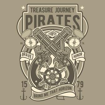Pirates treasure journey