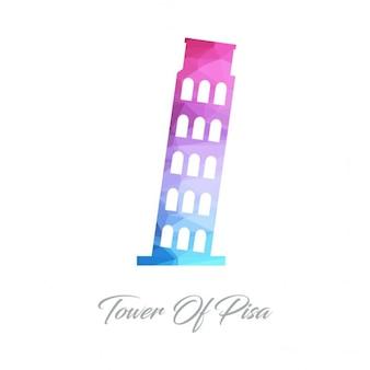 Pisa tower polygon