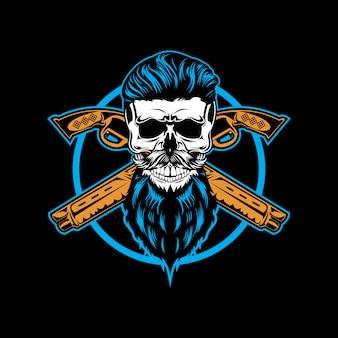 Pistolet czaszki