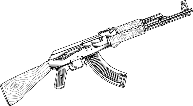 Pistolety do grafiki liniowej ak 47