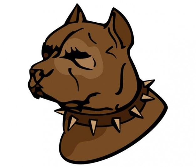 Pit bull grafika wektorowa