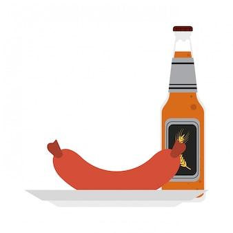 Piwo i kiełbasa
