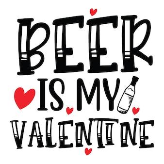 Piwo to moja walentynka