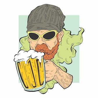 Piwo z brodą