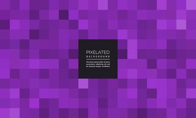 Pixelated fioletowy kolor abstrakcyjne geometryczne rozmycie tła
