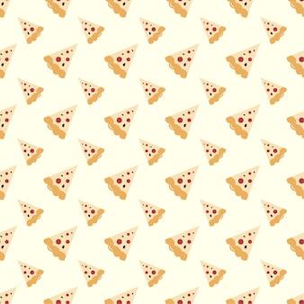 Pizza bez szwu deseń