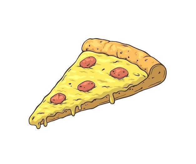 Pizza dla ilustracji restauracji