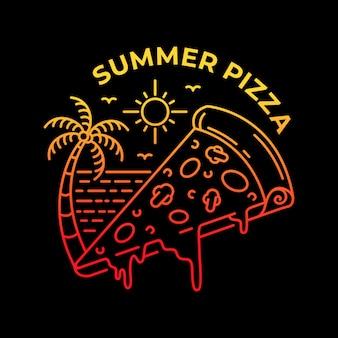 Pizza w lecie