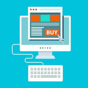 Płać za kliknięcie i zakupy online