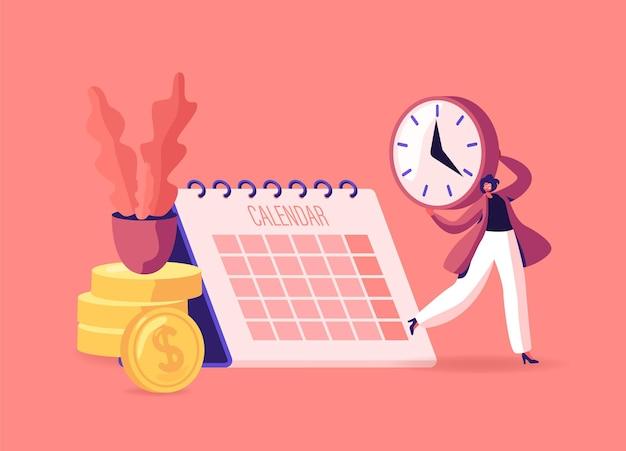 Płaca czek, wynagrodzenie lub ilustracja listy płac
