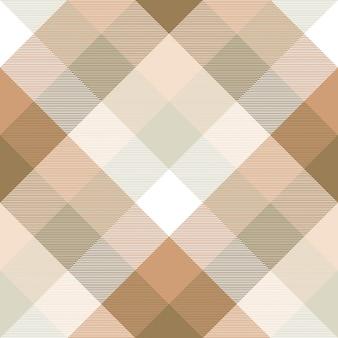 Plaid przekątnej tkaniny tekstura wzór