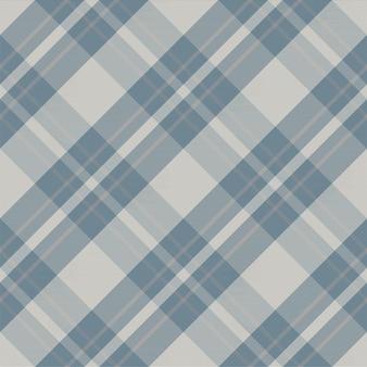 Plaid wzór bez szwu. sprawdź teksturę tkaniny. kwadratowy pasek w tle. wektor wzór włókienniczych kratę.