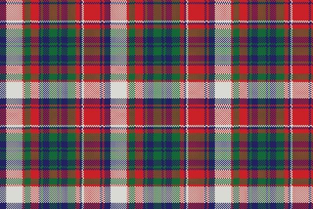 Plaid wzór kratki pikseli celtycki wzór
