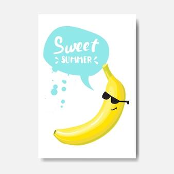 Plakat bananowy