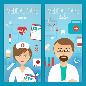 Plakat banery lekarza