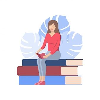 Plakat dnia książki światowej
