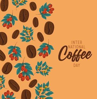 Plakat dzień kawy