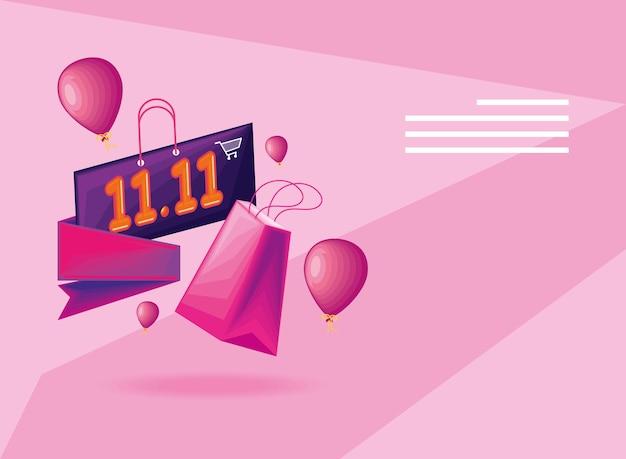 Plakat dzień zakupów
