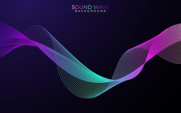 Plakat fali dźwiękowej