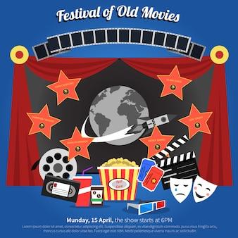 Plakat festiwalu filmowego