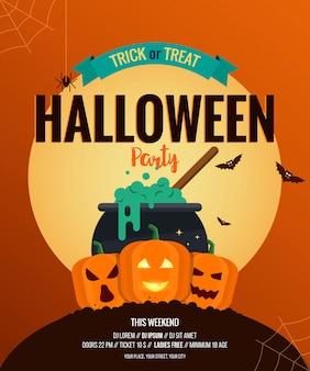 Plakat halloween