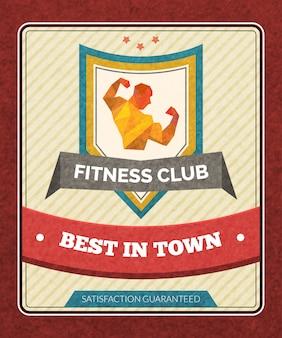 Plakat klubu fitness