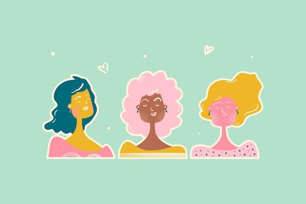 Plakat kobiecy