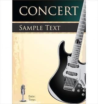 Plakat koncert rockowy