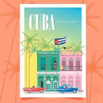 Plakat kuby