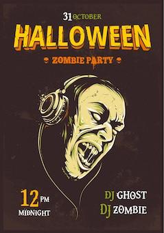 Plakat na halloween