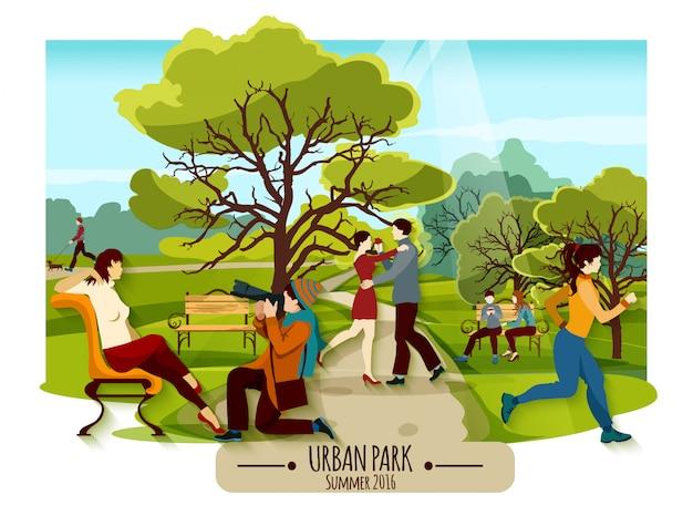 Plakat ogrodowy