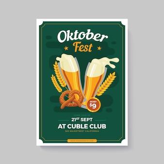 Plakat oktoberfest
