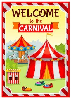 Plakat parku rozrywki