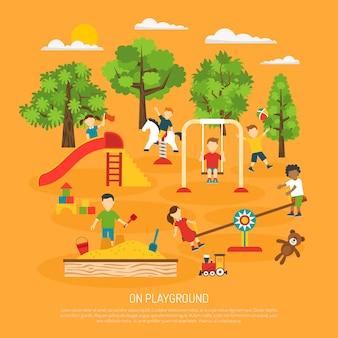 Plakat plaing dla dzieci