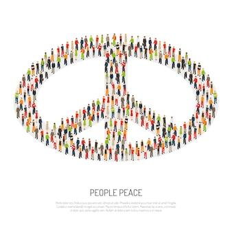 Plakat Pokoju Ludowego