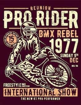 Plakat pro rider