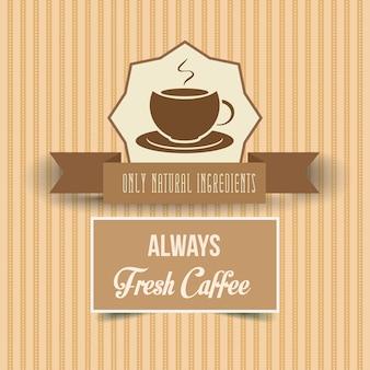 Plakat rocznika kawy