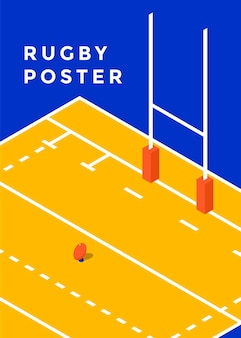 Plakat rugby.