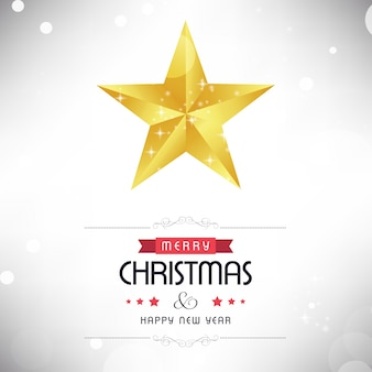 Plakat świąteczny. wesołych świąt. szczęśliwego nowego roku