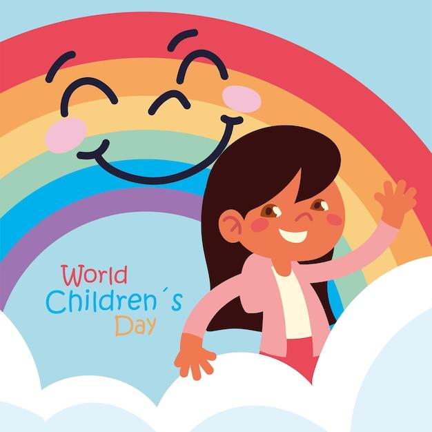 Plakat światowego dnia dziecka