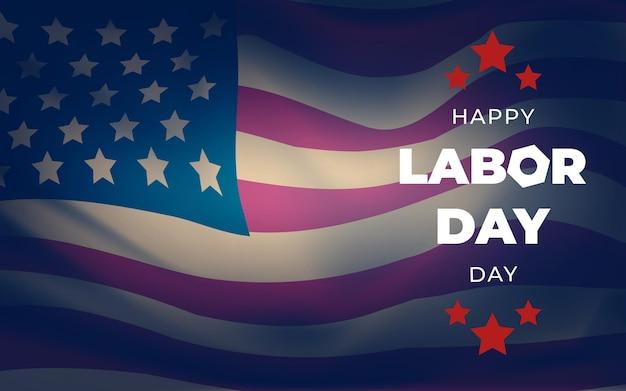 Plakat Szczęśliwy Dzień Pracy Darmowych Wektorów