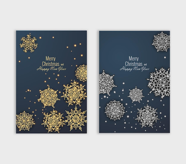 Plakat wesołych świąt