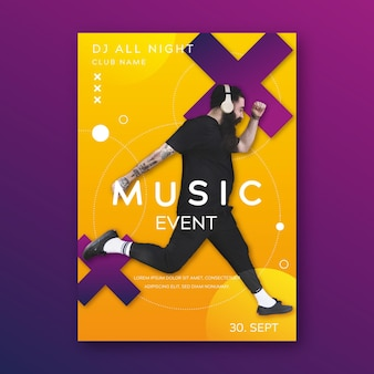 plakat wydarzenia muzycznego 2021