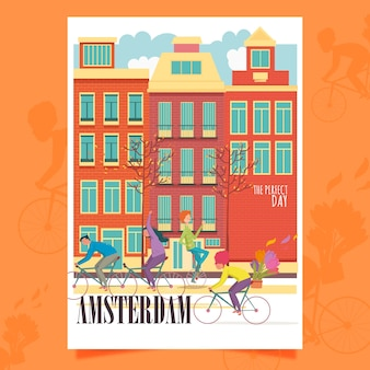 Plakat z amsterdamu