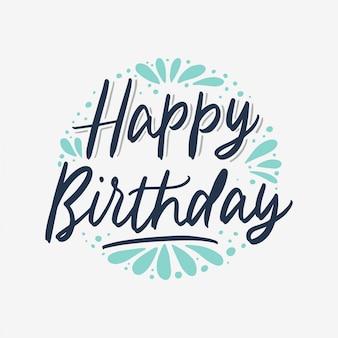 Plakat z okazji urodzin