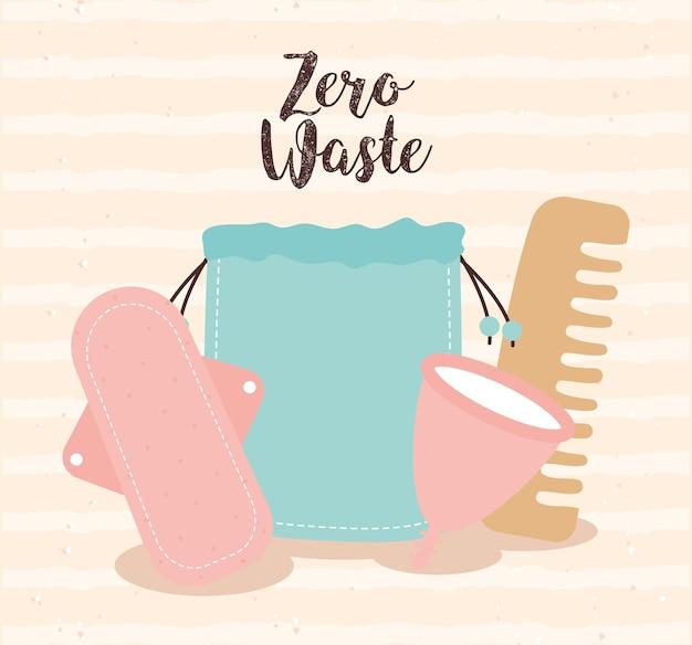 Plakat zero odpadów