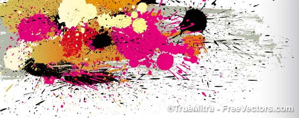 Plamy koloru farby tekstury