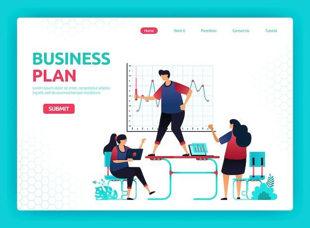 Planować wzrost, analizę i rozwój biznesu. spotkania i konferencje w biurze z pracownikami.